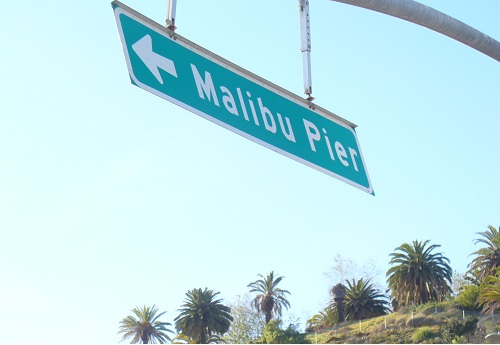 Malibu, Pier, Los Angeles, Kalifornien, California, Highway No 1