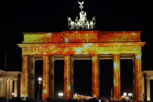 Brandenburger Tor beim Festival of Lights klein
